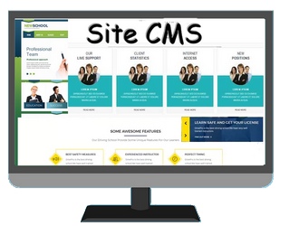 Site CMS : Blog, reservation, zone membre
